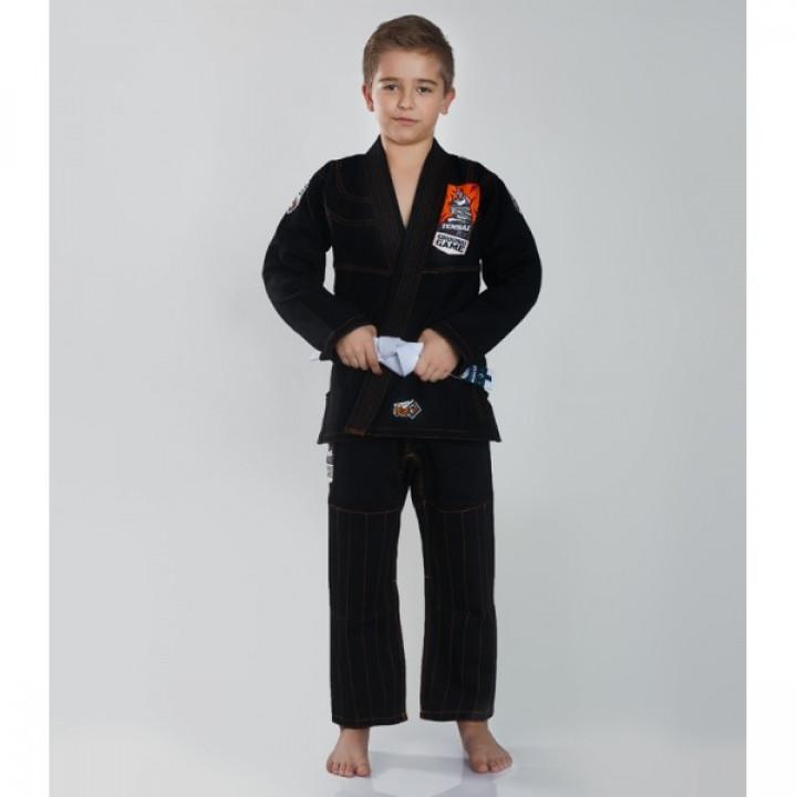 Ground Game Kimono/Gi для BJJ Детское Tensai Черное