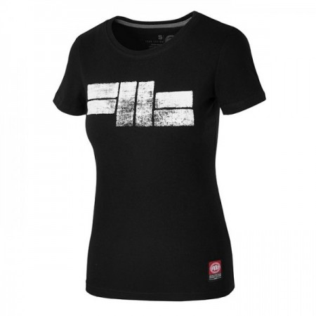 Pit Bull Футболка Женская Classic Logo Чёрная