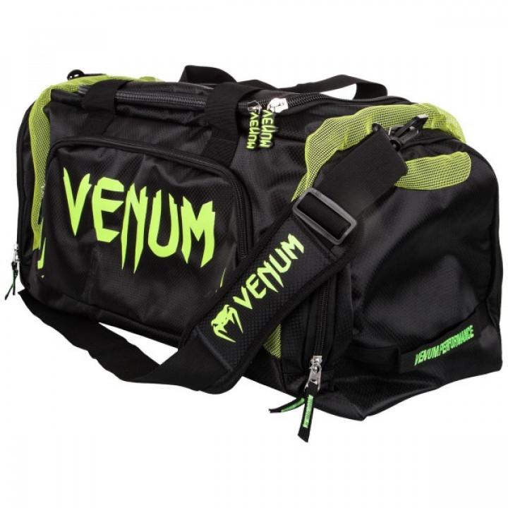Venum Сумка спортивная Trainer Lite Черно / Зеленая