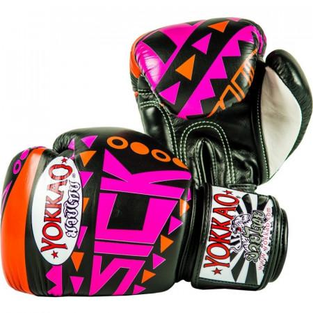 Yokkao Перчатки Боксерские Sick Оранжево/Розовые