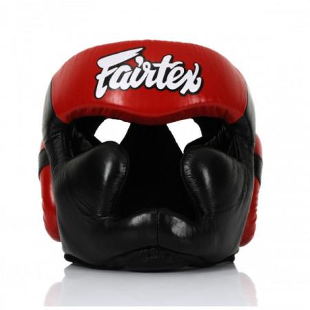 Fairtex Боксерский Шлем HG13 Черно-красный