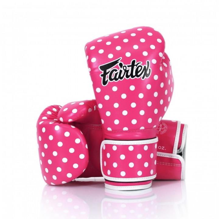 Fairtex Перчатки Боксерские BGV14 Polka Dot