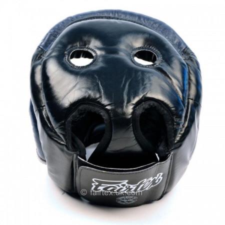 Fairtex Боксерский Шлем HG13 Черно-Синий