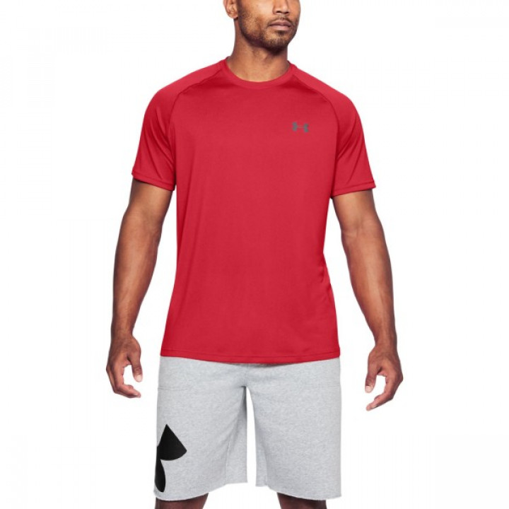 Under Armour HeatGear Tech Tee Красная 2