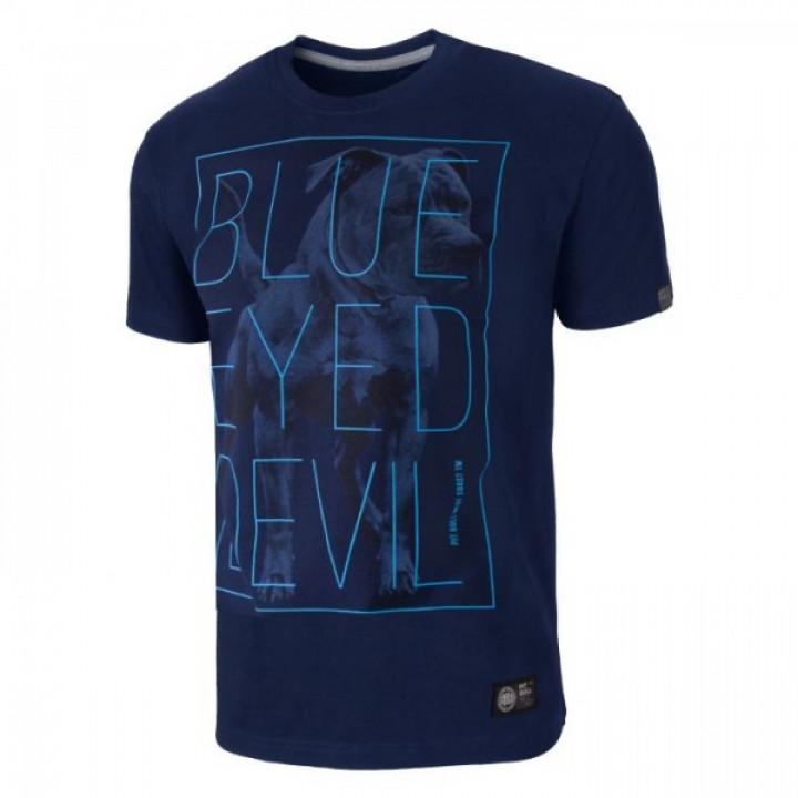 Pitbull T-shirt BED 18 Темно синяя