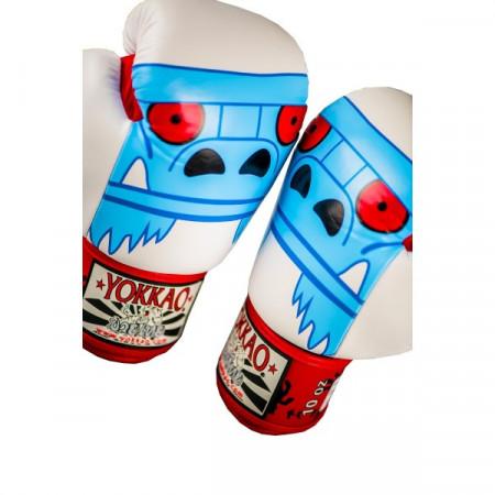 Yokkao Перчатки боксёрские Monster Белые