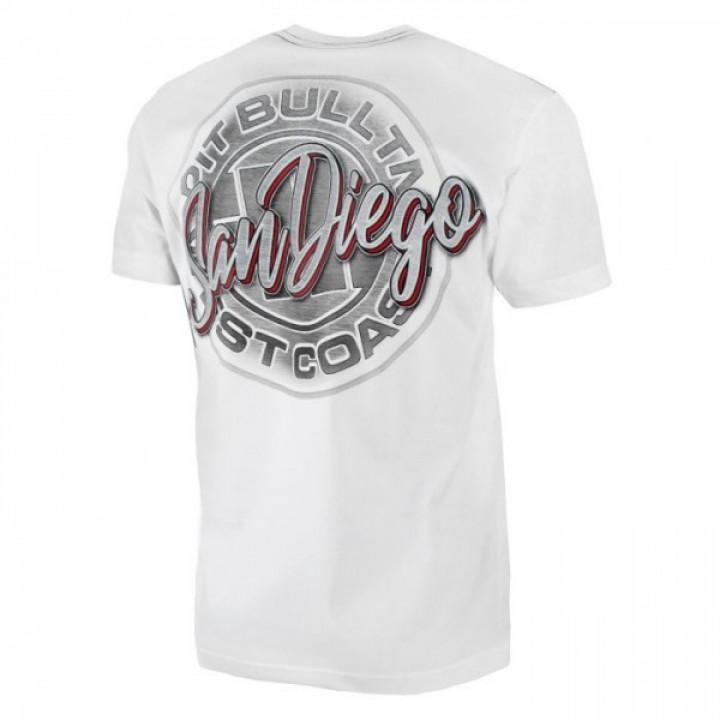 Pitbull T-shirt Original San Diego Белая