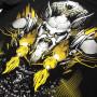 Venum T-shirt Viking 2.0 Черно/Желтая