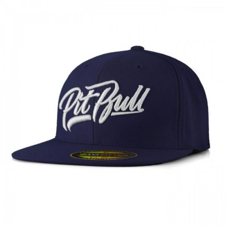 Pitbull  Full Cap Flat El Jefe Темно синяя