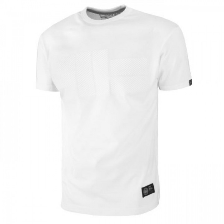 Pitbull T-shirt One Tone Logo Белая