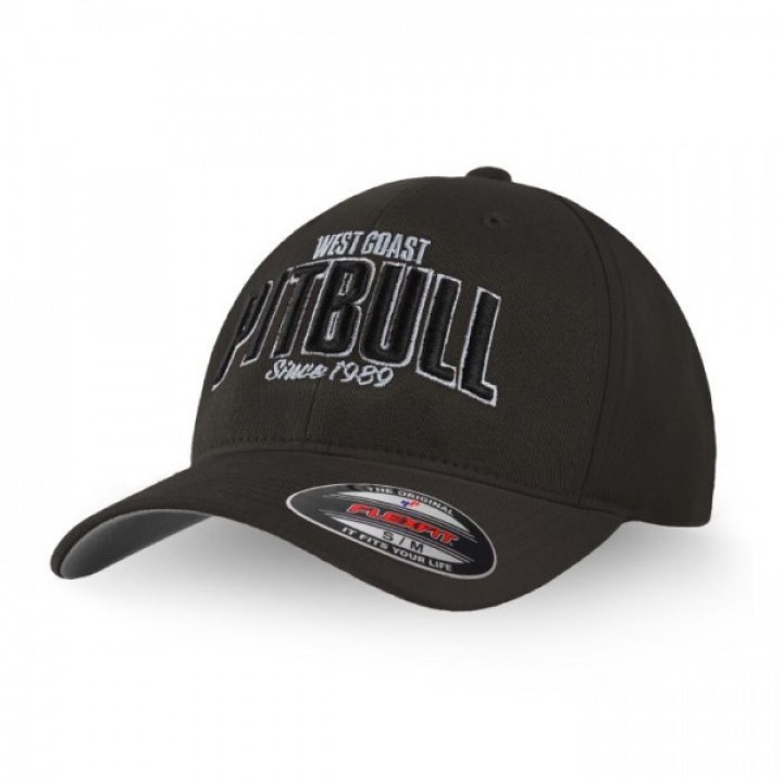 Pitbull Full Cap Classic Since 1989 Серая