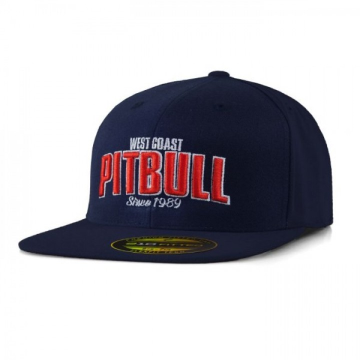 Pitbull Full Cap Flat Since 1989 Темно синяя