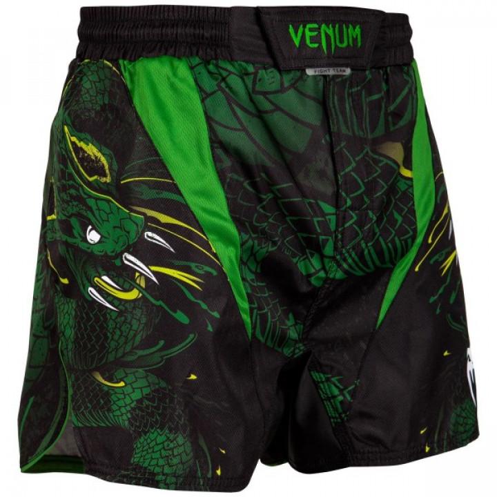 Venum Шорты MMA Green Viper Черно-Зеленый