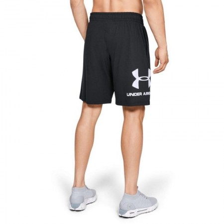 Under Armour Шорты Sportstyle Cotton Graphic Черные