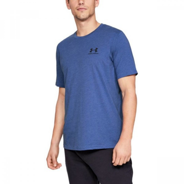 Under Armour Sportstyle Left Chest SS Синяя