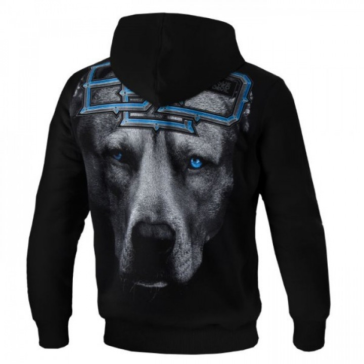 Pit Bull Кофта с капюшоном Blue Eyed Devil 18 Чёрный