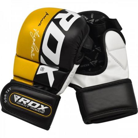 RDX Перчатки для MMA GGL-T6 Жёлтые