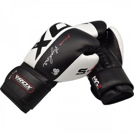 Перчатки боксерские RDX S4 черные