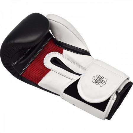 Перчатки боксерские RDX S5 черно-белые