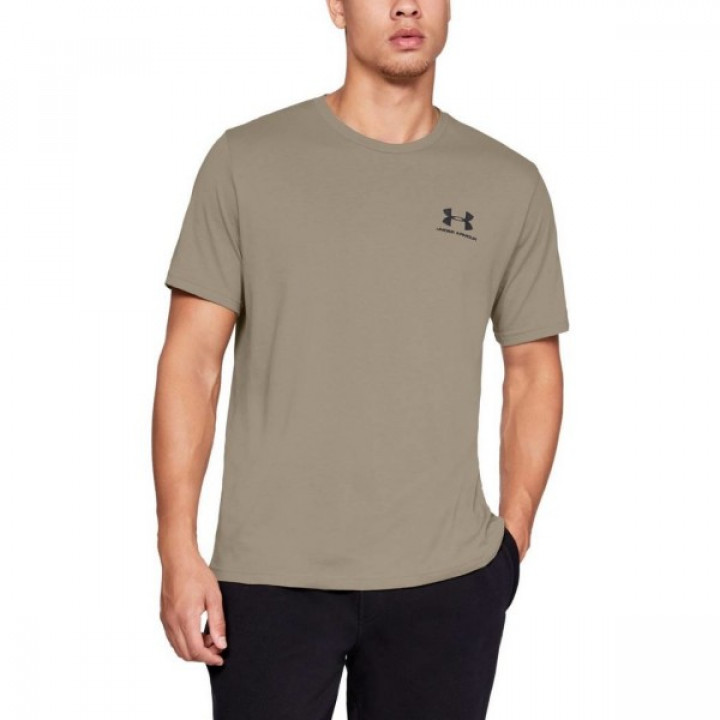 Under Armour Sportstyle Left Chest SS Коричневая