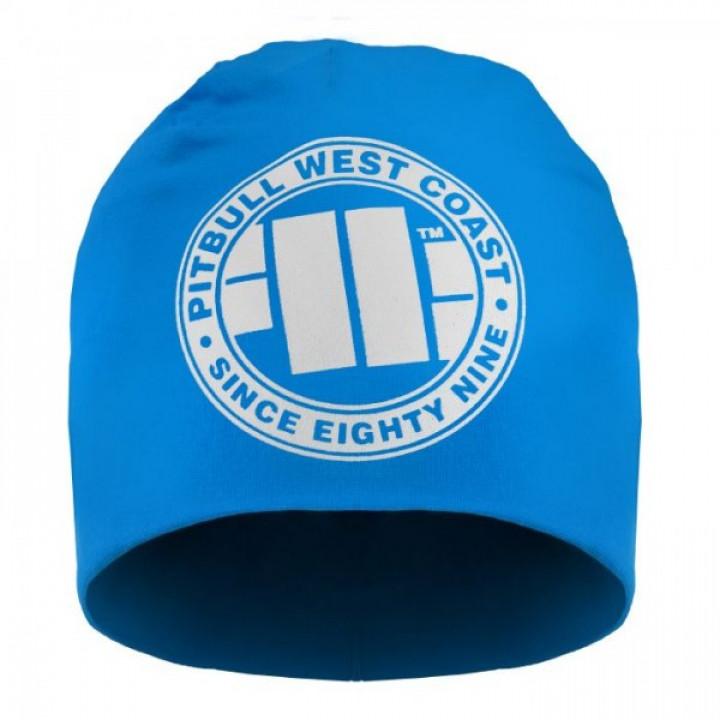 Pit Bull Шапка Big Logo 18 Голубая