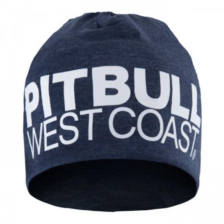 Pit Bull Шапка TNT 18 Темно синяя меланж