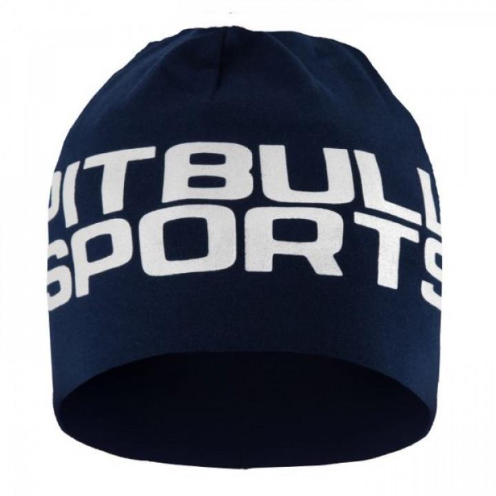 Pit Bull Шапка Pitbull Sports 18 Темно синяя