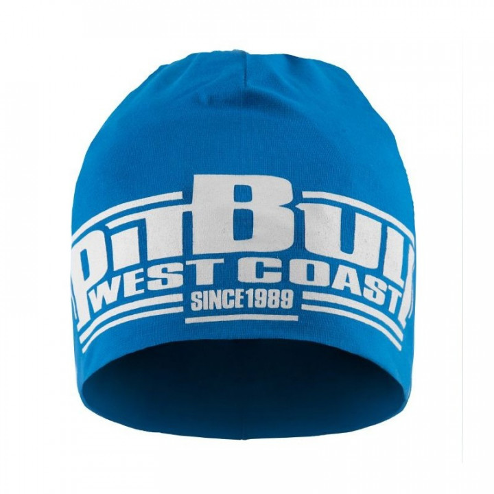 Pit Bull Шапка Classic Boxing 18 Голубая