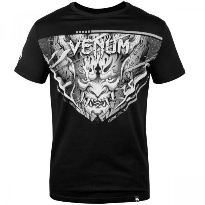 Venum T-shirt Devil Черная