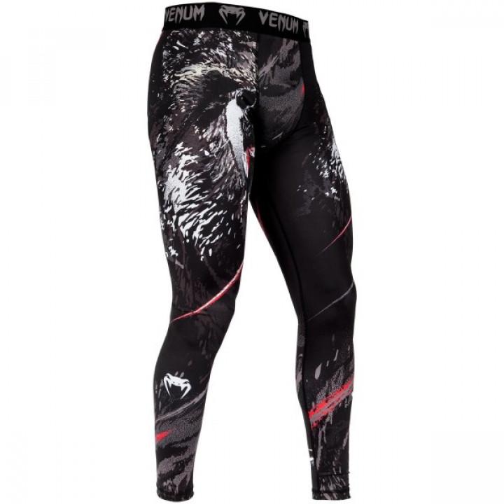 Venum Компрессионные штаны Grizzli Черный
