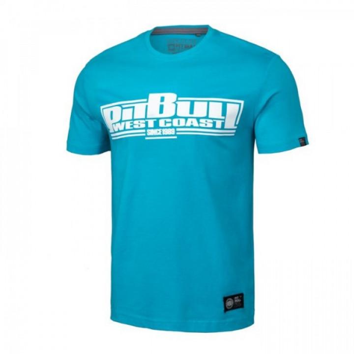Pitbull T-shirt Classic Boxing 19 Голубая