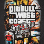 Pitbull T-shirt Most Wanted 19 Темно Серая