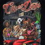 Pitbull T-shirt City Of Dogs 19 Черная