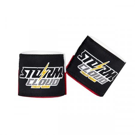 StormCloud Бинты боксерские HW 1.0 Бело/Красные