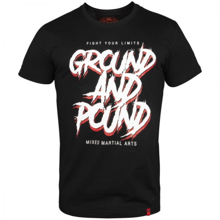 Venum T-shirt Ground And Pound Черная