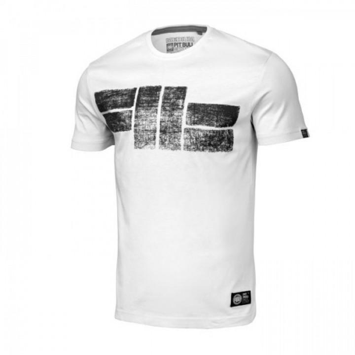 Pitbull T-shirt Classic Logo 19 Белая