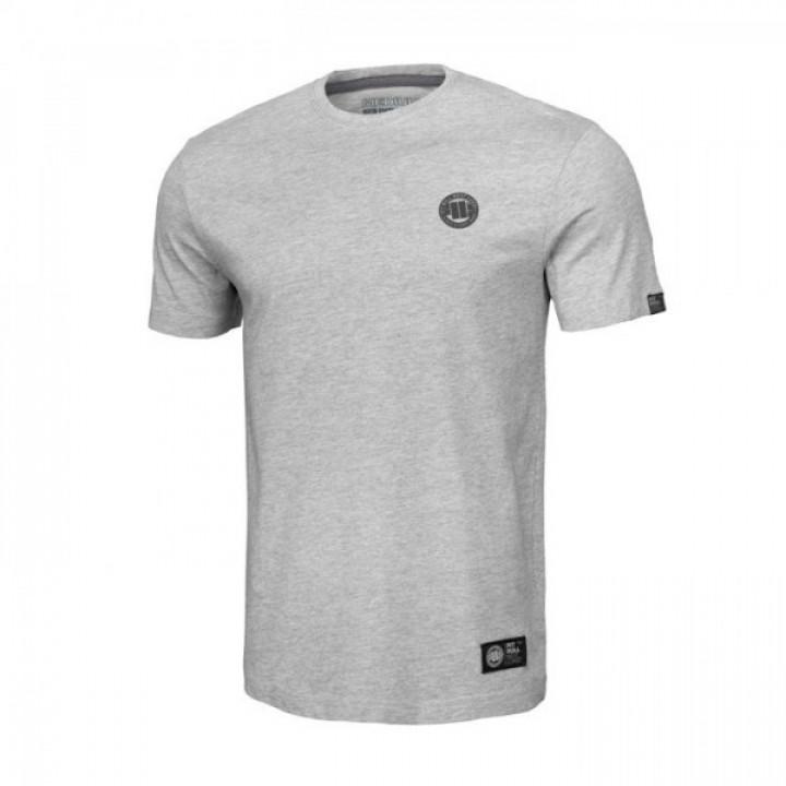 Pitbull T-shirt Small Logo 19 Серая
