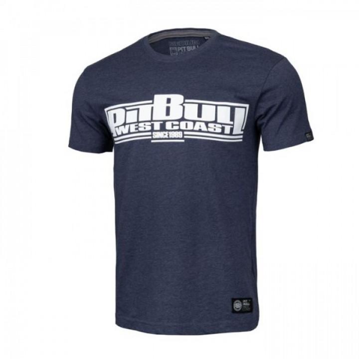 Pitbull T-shirt Classic Boxing 19 Темно синяя меланж