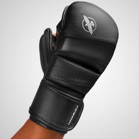 Hayabusa Перчатки для MMA T3 7oz Черные/Черные