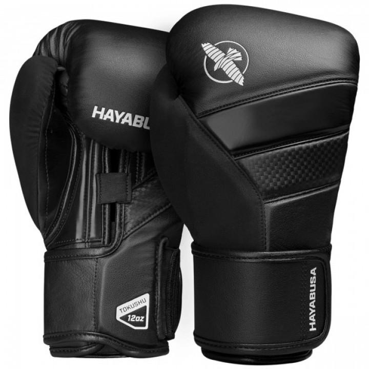 Hayabusa Перчатки боксерские T3 Черные/Черные