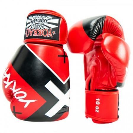 Yokkao Перчатки Боксерские X Красные