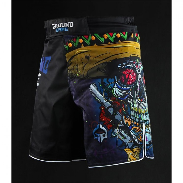 Ground Game Шорты MMA Mexican Skull