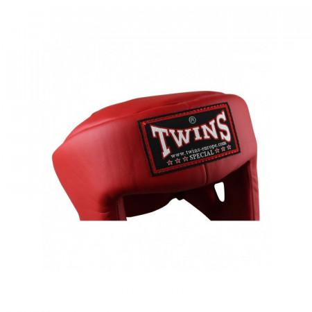 Twins Шлем Боксерский для турниров HGL-4 Красный