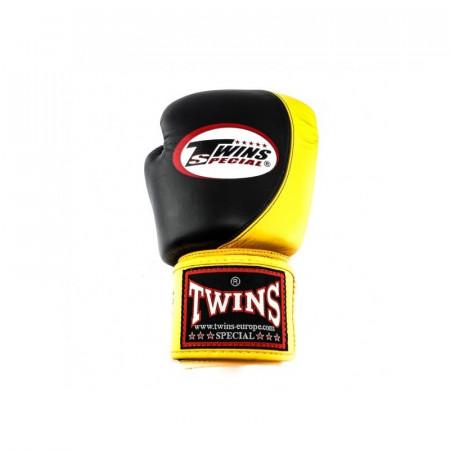 Twins Перчатки боксерские BGVL-9 Черно/Желтые
