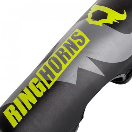 Ringhorns Защита на Голень Charger Черно/Зеленые без стопы