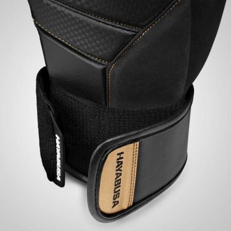 Hayabusa Перчатки Боксерские T3 Черно/Золотые