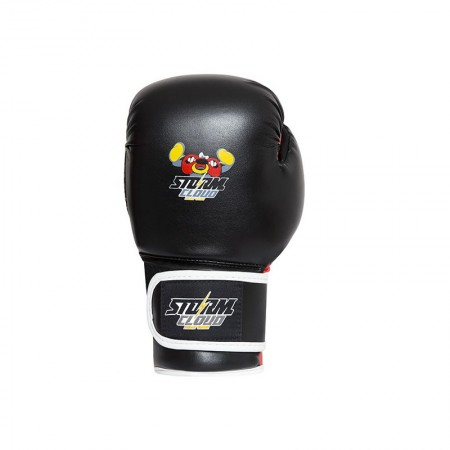 StormCloud Перчатки боксерские детские Fighter Черно/Красные