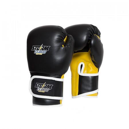 StormCloud Перчатки боксерские детские Classic Черно/Желтые