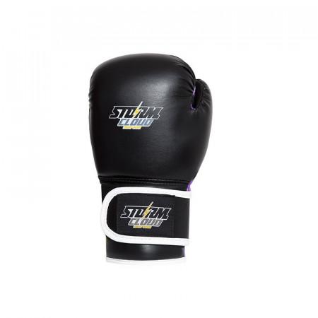 StormCloud Перчатки боксерские детские Classic Черно/Фиолетовые