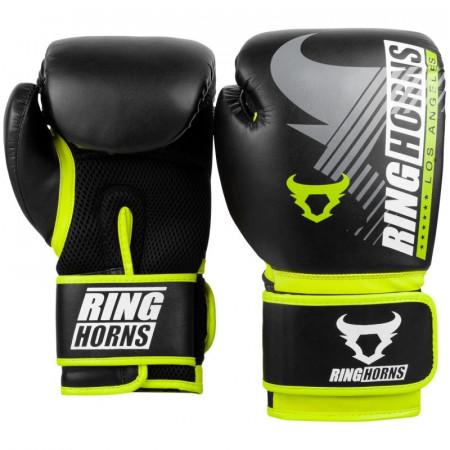 Ringhorns Перчатки боксерские Charger MX Черно/Зеленые